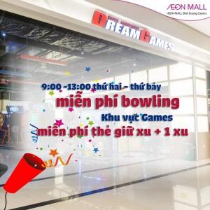 Mien-phi-choi-Bowling-tai-trung-tam-Dream-Games-Aeon-Mall