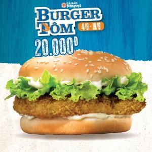 Popeyes-Viet-Nam-khuyen-mai-giam-gia-50-cho-Burger-Tom