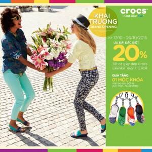 Crocs-Lotte-Mart-khai-truong-khuyen-mai-giam-gia-20-tat-ca-san-pham