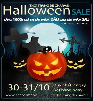 De-Charme-khuyen-mai-Halloween-tang-100-gia-tri-san-pham