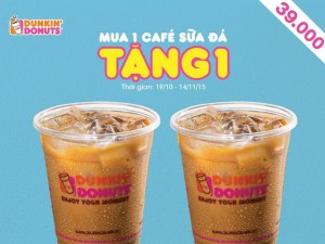 Dunkin-Donuts-khuyen-mai-chi-39k-mua-1-tang-1-cafe-sua-da
