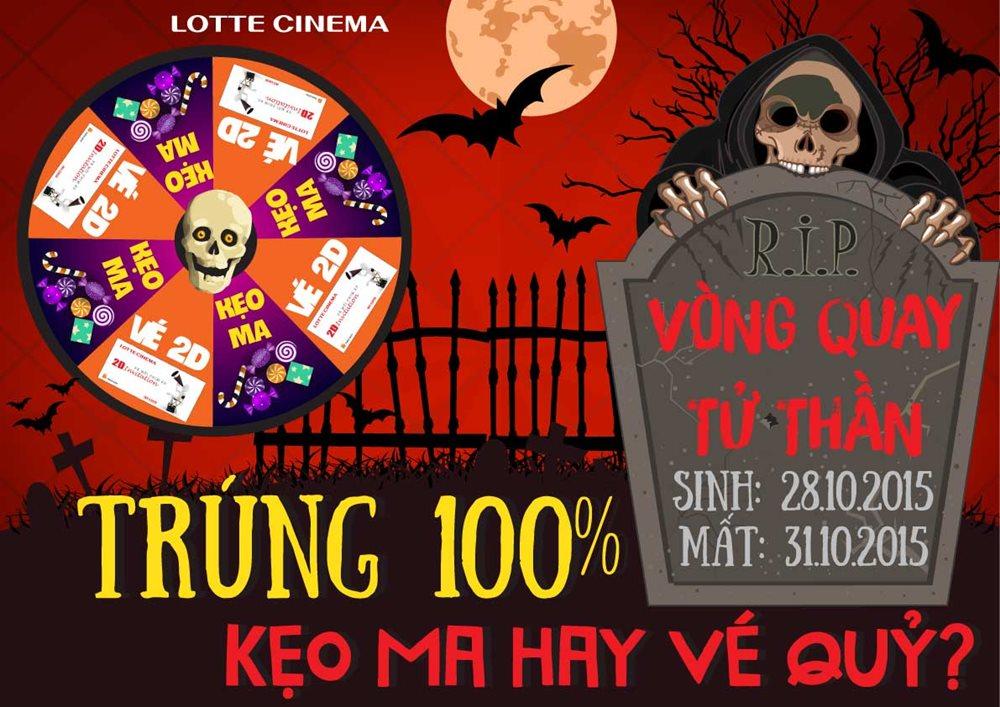 Halloween đẫm máu- sự kiện khuyến mại hấp dẫn tới từ Lotte Cinema-1