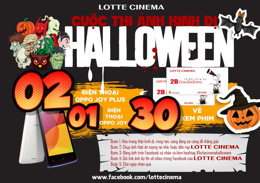 Halloween đẫm máu- sự kiện khuyến mại hấp dẫn tới từ Lotte Cinema-3