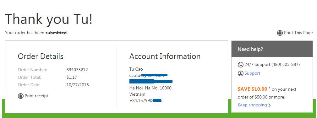 Khuyến mại tên miền .net tại Godaddy chỉ còn 02 ngày