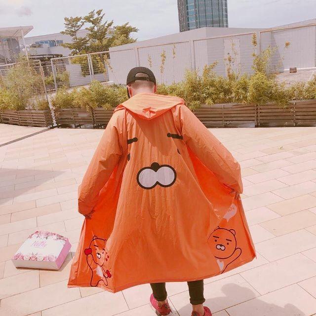 áo mưa hoạt hình