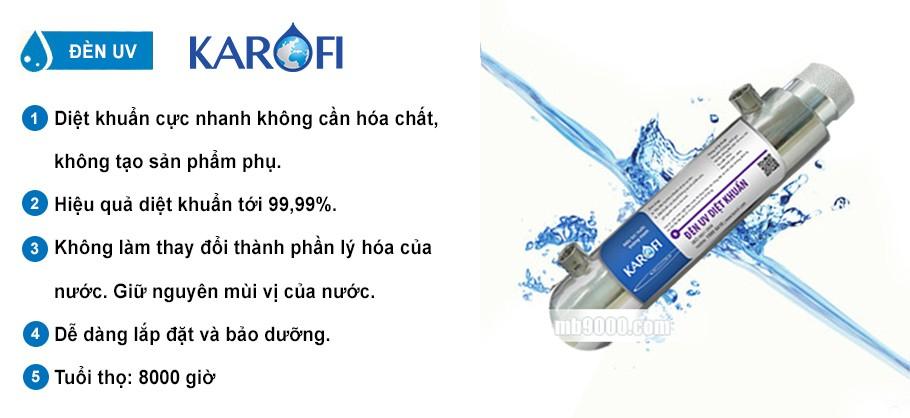 máy lọc nước karofi 9 lõi
