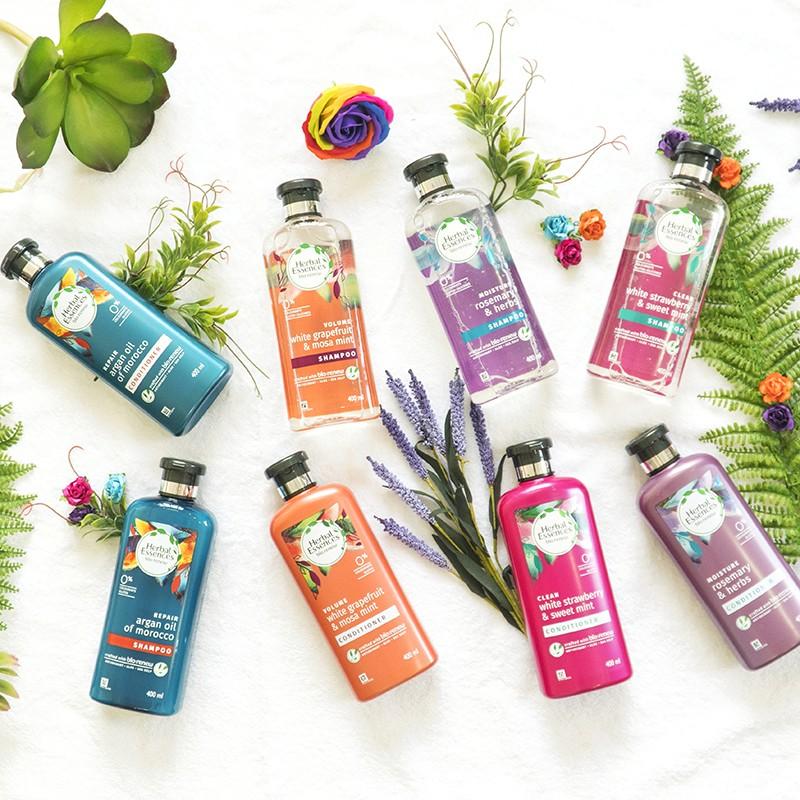 Đánh giá bộ dầu gội Herbal Essences từ thảo mộc thiên nhiên