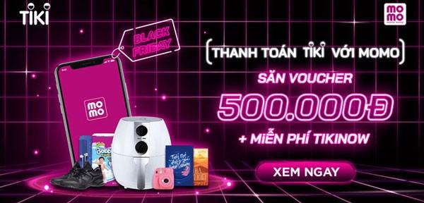 mã giảm giá tiki 500k