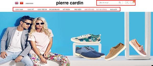 Mã Pierre Cardin giảm giá