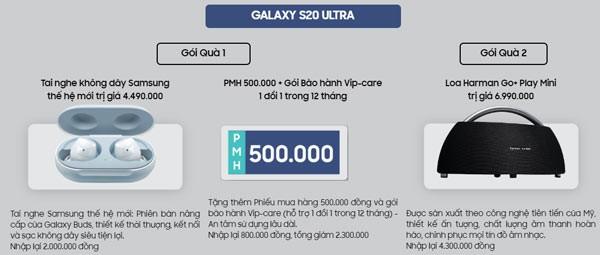 đặt trước galaxy s20 series