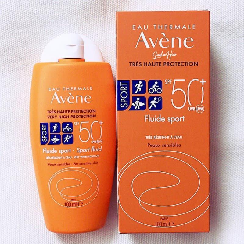 AVÈNE Sort Fluid SPF50+